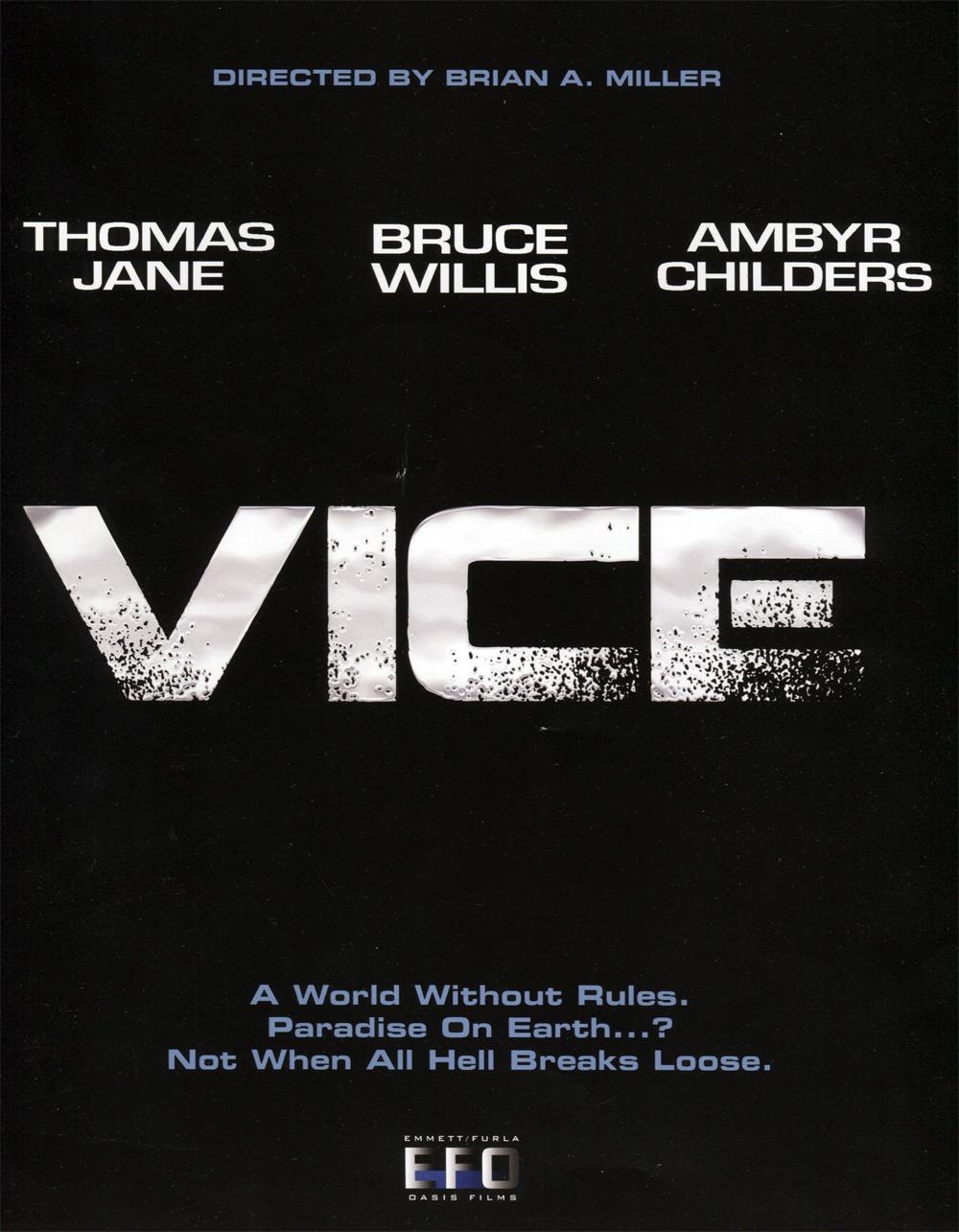 Vice Movie Poster Promo
